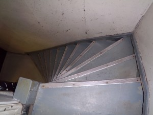 brewery stairs